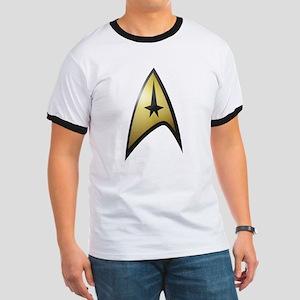 Star Trek: TOS Command Emblem Ringer T-Shirt