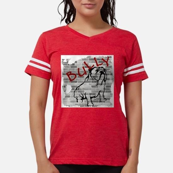 Brick Wall Bully Design Ash Grey T-Shirt