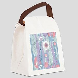 Decorative Pattern Canvas Lunch Bag