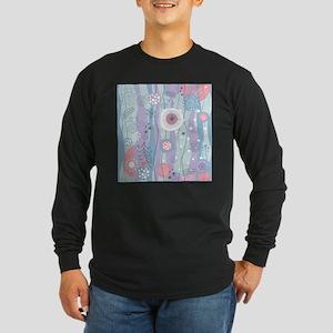 Decorative Pattern Long Sleeve T-Shirt