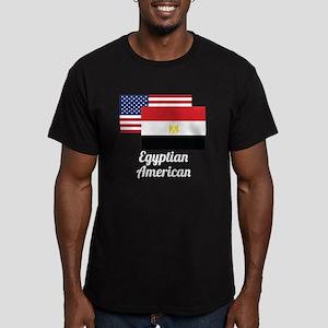 American And Egyptian Flag T-Shirt
