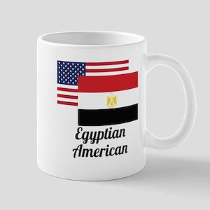 American And Egyptian Flag Mugs