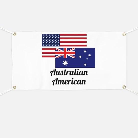 American And Australian Flag Banner