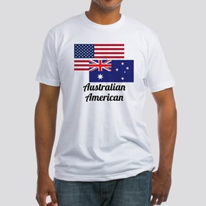 American And Australian Flag T-Shirt