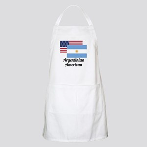 American And Argentinian Flag Apron
