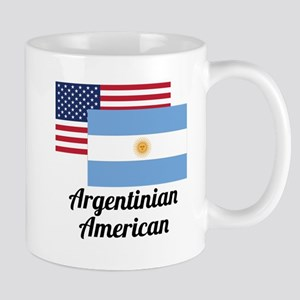 American And Argentinian Flag Mugs