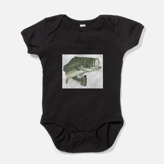 Cute Fishing humor Baby Bodysuit