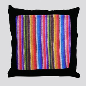 Mexican Fabric pattern Throw Pillow