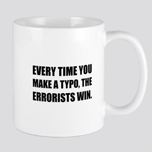 Typo Errorists 2 Mugs