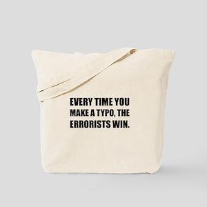Typo Errorists 2 Tote Bag
