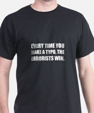 Typo Errorists 2 T-Shirt