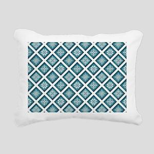 ELEGANT TILE Rectangular Canvas Pillow