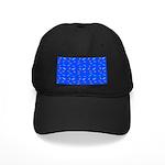 Scatter Wrasses pattern on blue Baseball Hat