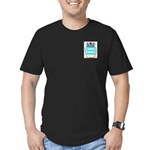 Poppel Men's Fitted T-Shirt (dark)