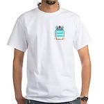 Poppel White T-Shirt