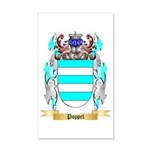 Poppel 35x21 Wall Decal