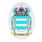Poppel Oval Ornament