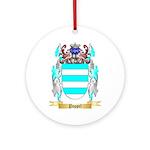 Poppel Round Ornament