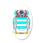 Poppe 35x21 Oval Wall Decal