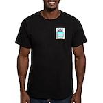 Popp Men's Fitted T-Shirt (dark)