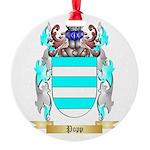 Popp Round Ornament