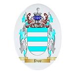 Popp Oval Ornament