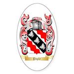 Pople Sticker (Oval 10 pk)