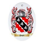 Pople Oval Ornament