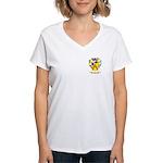 Pope Women's V-Neck T-Shirt