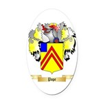 Pope Oval Car Magnet