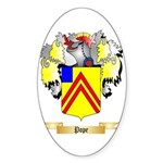 Pope Sticker (Oval 50 pk)