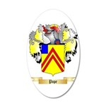 Pope 35x21 Oval Wall Decal