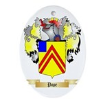 Pope Oval Ornament