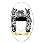 Poore Sticker (Oval 50 pk)