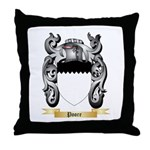 Poore Throw Pillow
