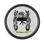 Poore Large Wall Clock