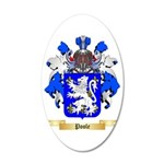 Poole 35x21 Oval Wall Decal