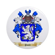 Poole Round Ornament