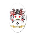 Ponting 20x12 Oval Wall Decal