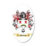 Ponting 35x21 Oval Wall Decal