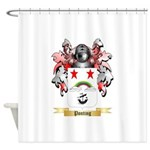 Ponting Shower Curtain