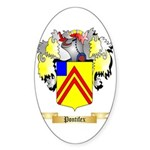 Pontifex Sticker (Oval)