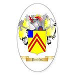 Pontifex Sticker (Oval 10 pk)