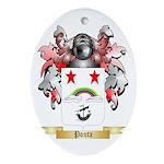 Ponta Oval Ornament