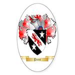 Pons Sticker (Oval 50 pk)
