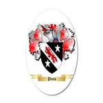 Pons 20x12 Oval Wall Decal