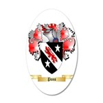 Pons 35x21 Oval Wall Decal