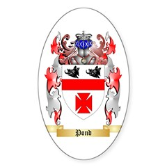 Pond Sticker (Oval 50 pk)