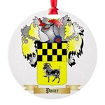 Ponce Round Ornament