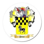 Ponce Round Car Magnet
